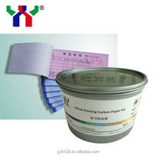 Carbon note paper ink for offset printing