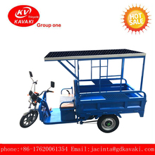 Solar power Wholesale 2017 New motor bike tricycle electric cargo trike
