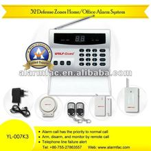 newest OEM/ODM old home alarm system ph-g11 gsm home alarm system do it yourself YL--007K3