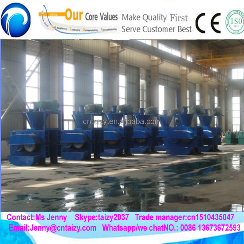 High Efficient Factory Price Coal Powder Dust Briquette Making Machine