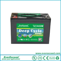 AGM battery 12v 200ah sealed lead acid deep cycle battery for solar system