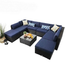 Better homes gardens black and white 7pc rattan red 7 patio set 5 piece outdoor blue wicker <strong>furniture</strong>