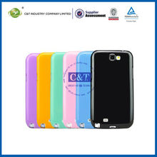 C&T tpu Jelly for samsung galaxy note 2 back cover