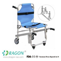 Ambulance used aluminum alloy evacuation chair for stairs