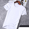 high quality leather handmade men casual t shirt