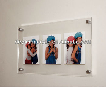 wholesale funia photo frame/acrylic wall photo frame