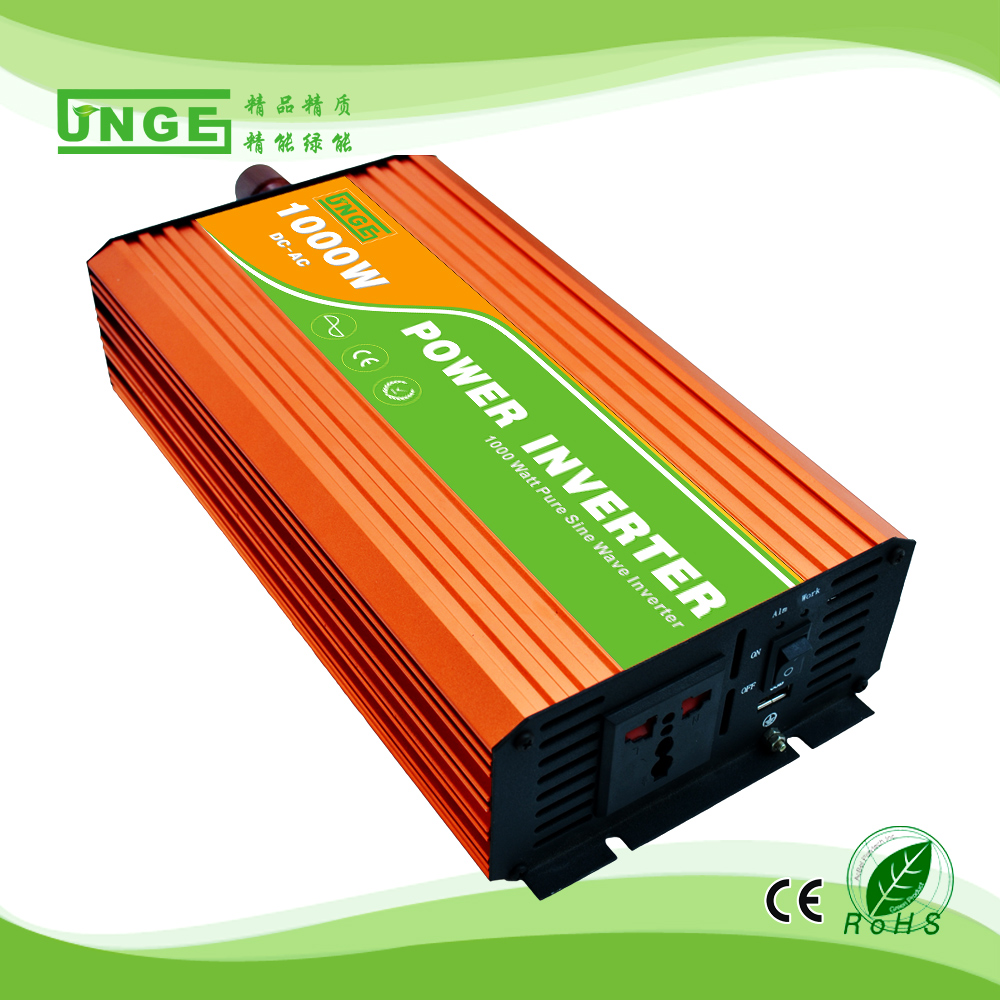 Solar Power Inverter 1000w Pure Sine Wave 12v 110v Buy 110vsolar 1000wpure Product On