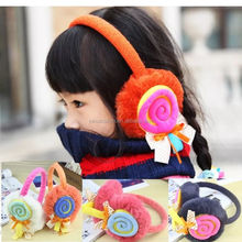 2017 New Style Cute Candy Color Warm Earmuffs Custom