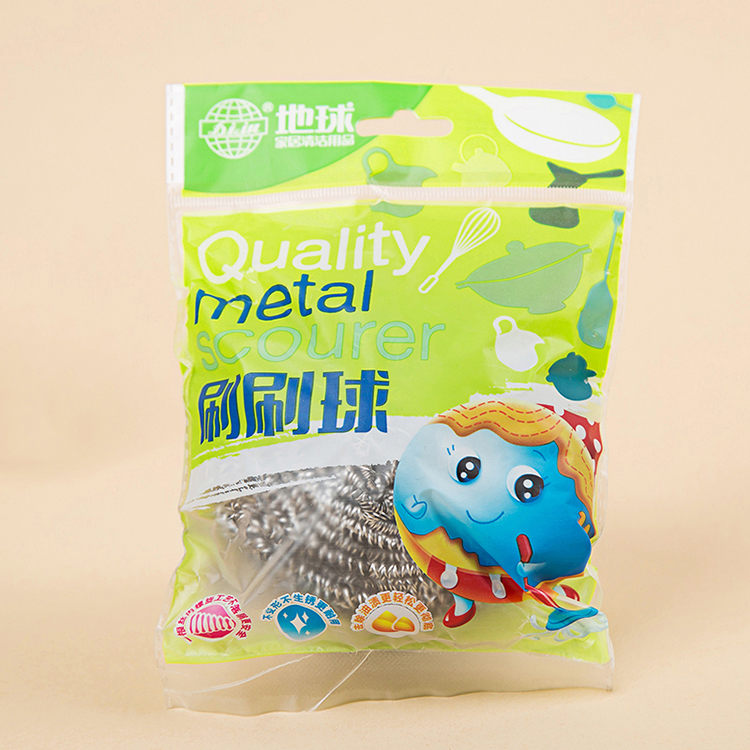 kitchen cleaning 40g stainless steel AISI410 pot scourer