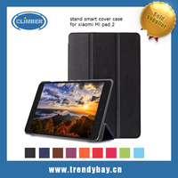 Wholesale flip cover tablet case for xiaomi mipad 2