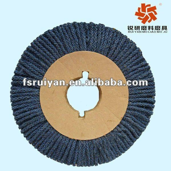 Metal mirror fine grinding polishing wheel
