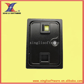 American style coin selector door with holder and microswitch for arcade ame machine