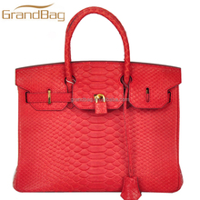 New Products Ladies Handbags Exotic Genuine Leather Python Skin Women Bags Ladies Fashion Genuine Leather Handbags