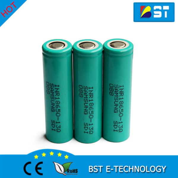 High quality for samsung inr18650-13q rechargeable battery 3.7v 18650 li-ion battery 1300mah