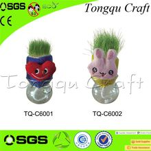 Office Decoration grass heads how to make New pintrest crafts for kids , panty hose head