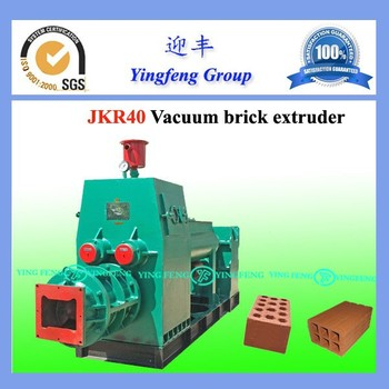 China Yingfeng brick machine for uk, JKR40 fully automatic brick making machine for sale uk