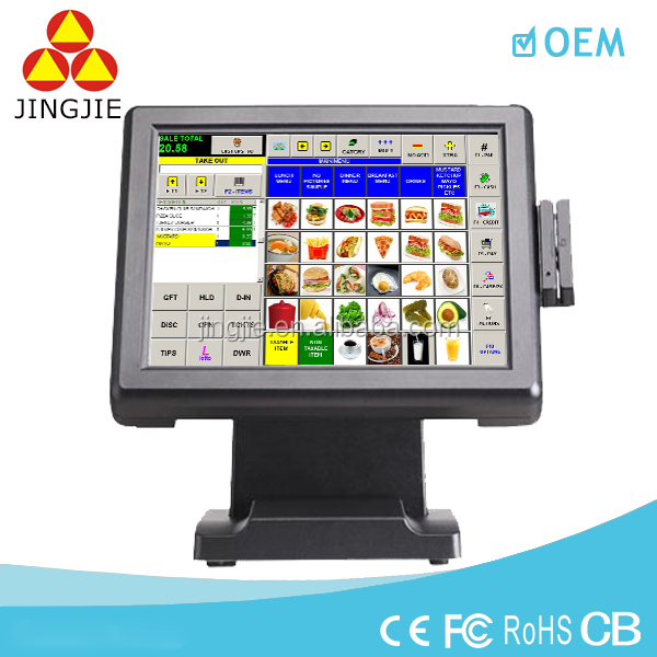POS System with cash drawer/scanner/customer display JJ-8000A