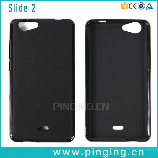 High Quality TPU Soft Frosted Pudding cover case for wiko Slide 2 , back cover for wiko Slide 2