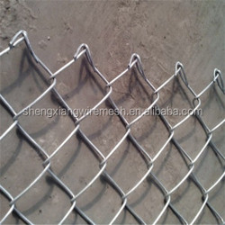 made in china pvc coated wire mesh fence/diamond chain link fence/Galvanized or polyster powder spray / iron wire mesh