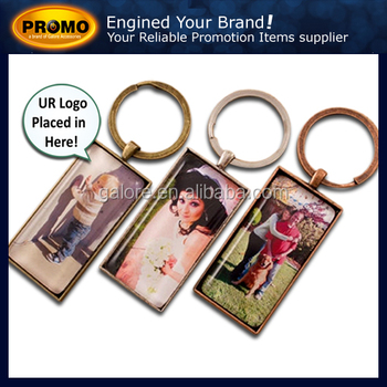promotional gift metal key chains decorative metal chain customized key chains
