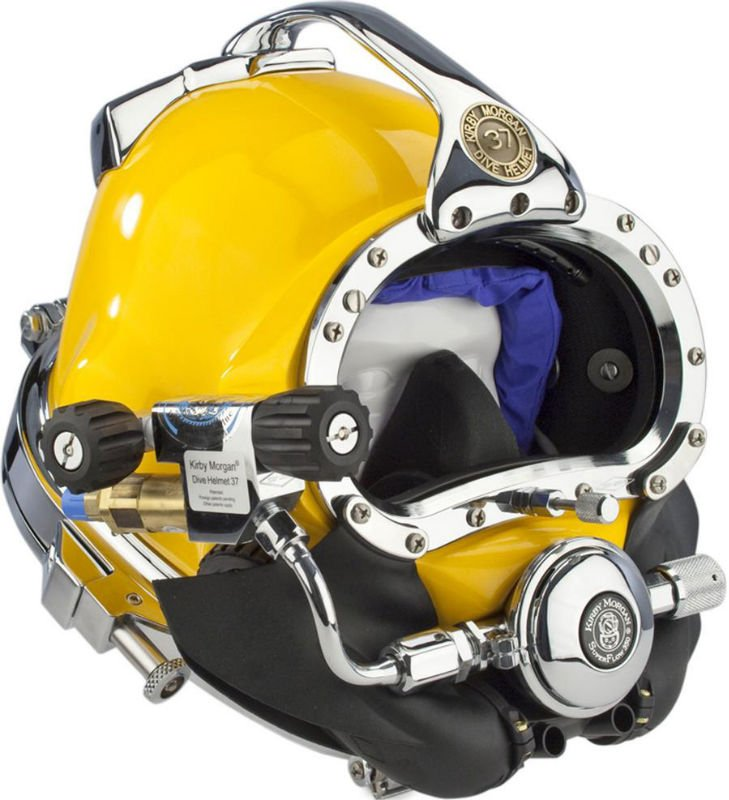 Kirby Morgan 37 Commercial Divers Helmet