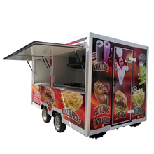 Freezer trailer juice bar outdoor chinese mini mobile new truck food