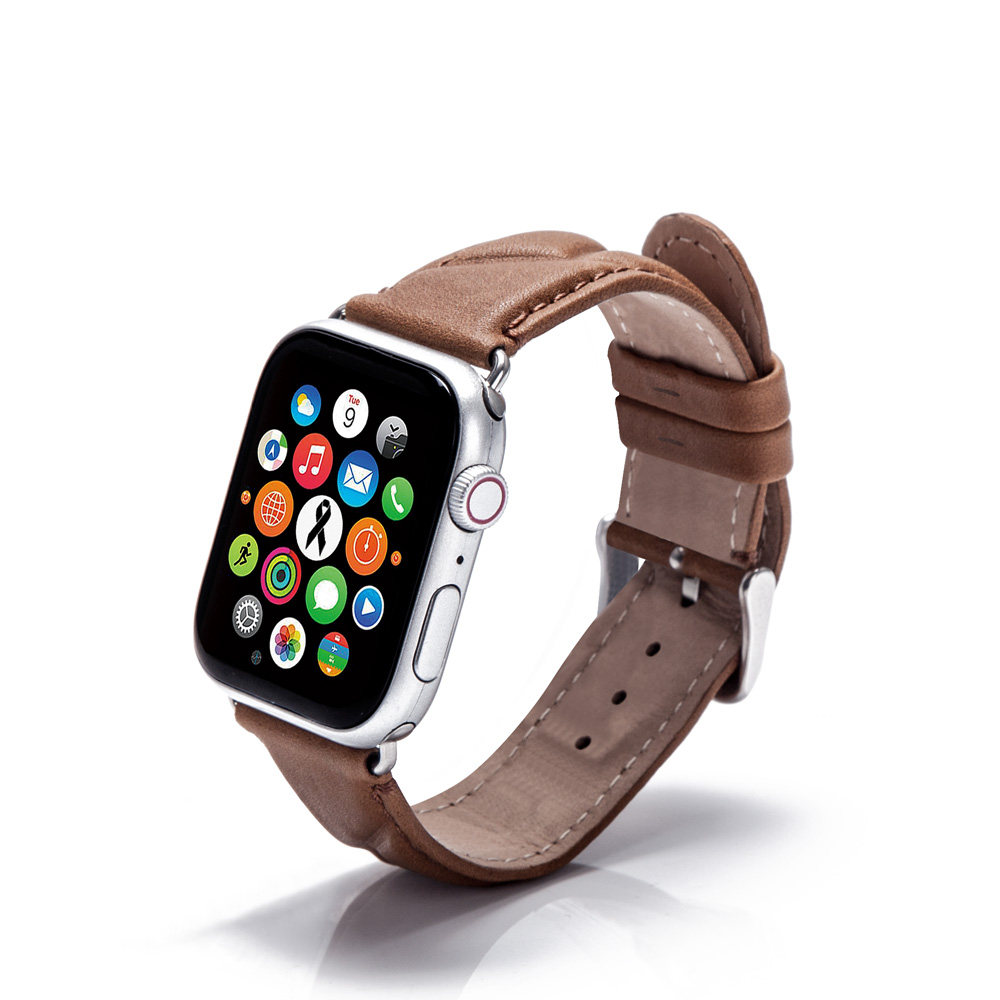 Hot Product Leather Watch Band Fitness Band Watch Strap for Apple 38mm 42mm in Multiple Colors