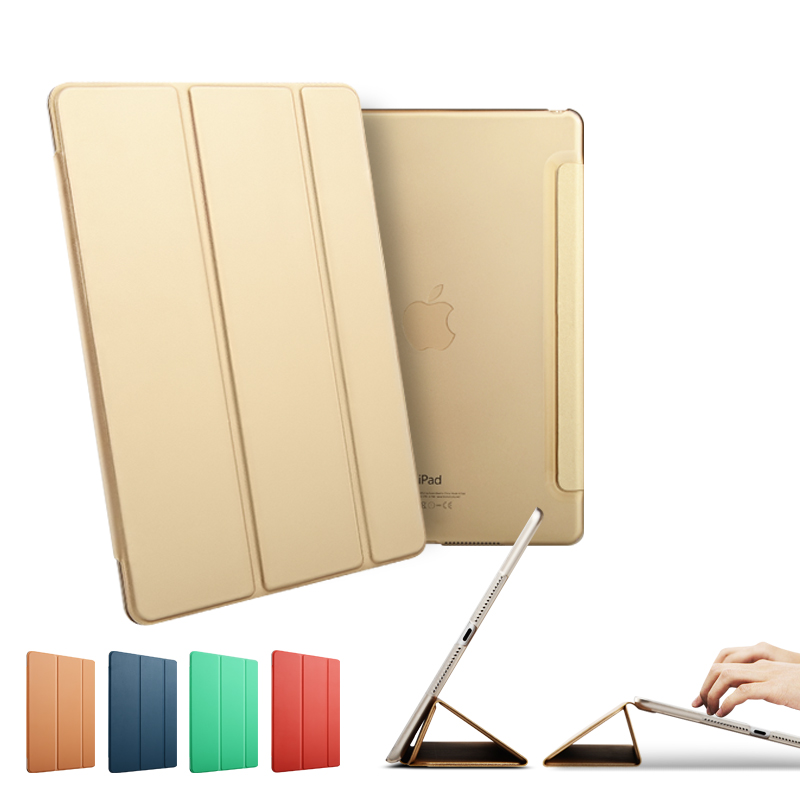 3-folding Leather Case with Holder for iPad air 1 / for iPad 5