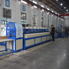 Automatic feeding paper corrugated board production line