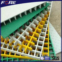 Hot sale frp grating/swimming pool plastic grating price