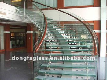 Laminated Tempered Glass Staircase