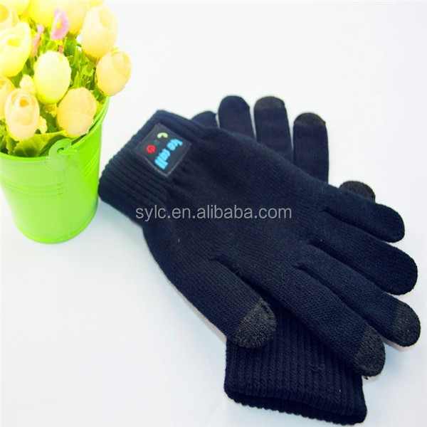 Manufacturer Wholesale High Quality Smartphone Touch Bluetooth Gloves iGloves.