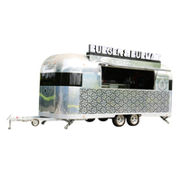 Towable Fast Food Mobile Food Trailer