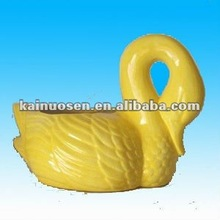 home decorative ceramic swans