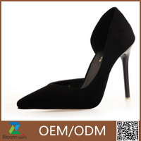 Fashion toe stiletto high heel dress shoes lady evening shoes or dress shoes