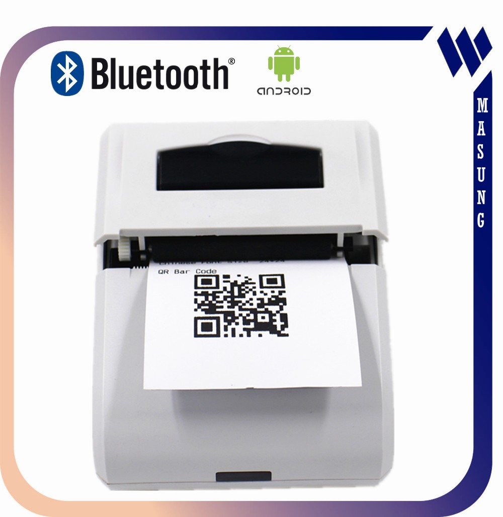 After-sales Service Provided support esc/pos commands portable bluetooth thermal printer
