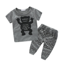 Clothing Manufactures Kids Boys Confortable Clothes Set Online Shopping