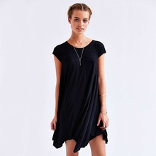 2016 design Lady dress women wholesale linen cotton summer dress girls' dress