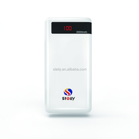 20000mAh power bank brand portable mobile flashlight power pack battery charger for Samsung