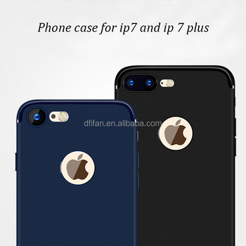 DFIFAN Chinese supplier phone accessories mobile case for ipone 7 8 ,matte colorful back cover for iphone 7 plus case