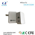 2017 Qualcomm 3.0 dual USB and USB-C Wall Charger