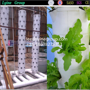 Indoor garden hang up vertical planting system view for Indoor gardening machine