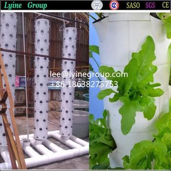 Indoor garden hang up vertical planting system view for Indoor gardening machine