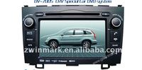 "7"" 2 din in-dash special car dvd player DH7037 for Honda CRV with Gps, TV,radio 3G etc.features"