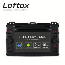 Loftox 2 din 8 core car dvd for opel toyota land cruiser 6 disc car dvd changer Built-in WIFI 4G LTE DAB+ TPMS dvd players car