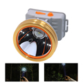 IPX4 350-500m Throw Distance 3000mAh Battery Rechargeable Head Lamp LED Waterproof
