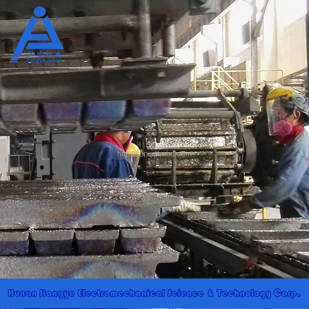 Pure lead Lead ingot casting machine lead alloy ingot casting machine