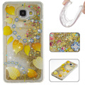 Bling Sparkle Glitter Stars Dynamic Liquid Quicksand Clear Plastic Case for Samsung galaxy a3 a5 a7