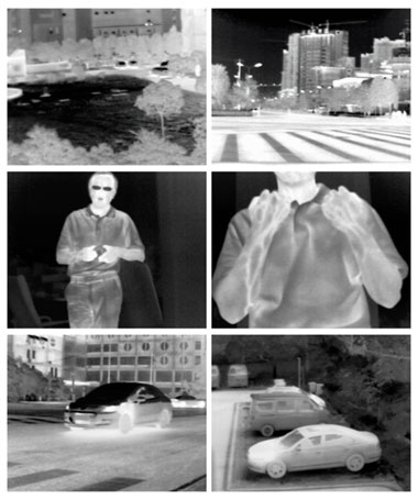 D1&1080p Analog and network High accuracy Body Temperature Detection Thermal imaging camera