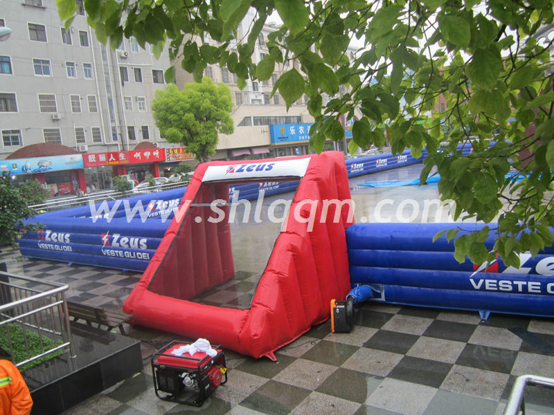 Inflatable Soccer Football Pitch for sale